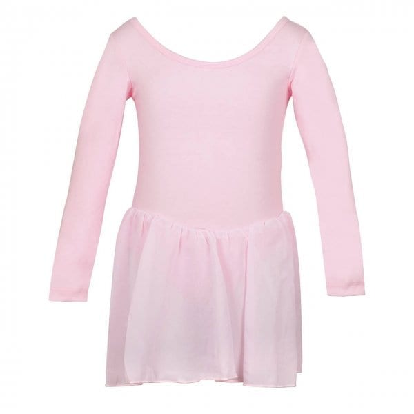 Long Sleeved Leotard with Skirt