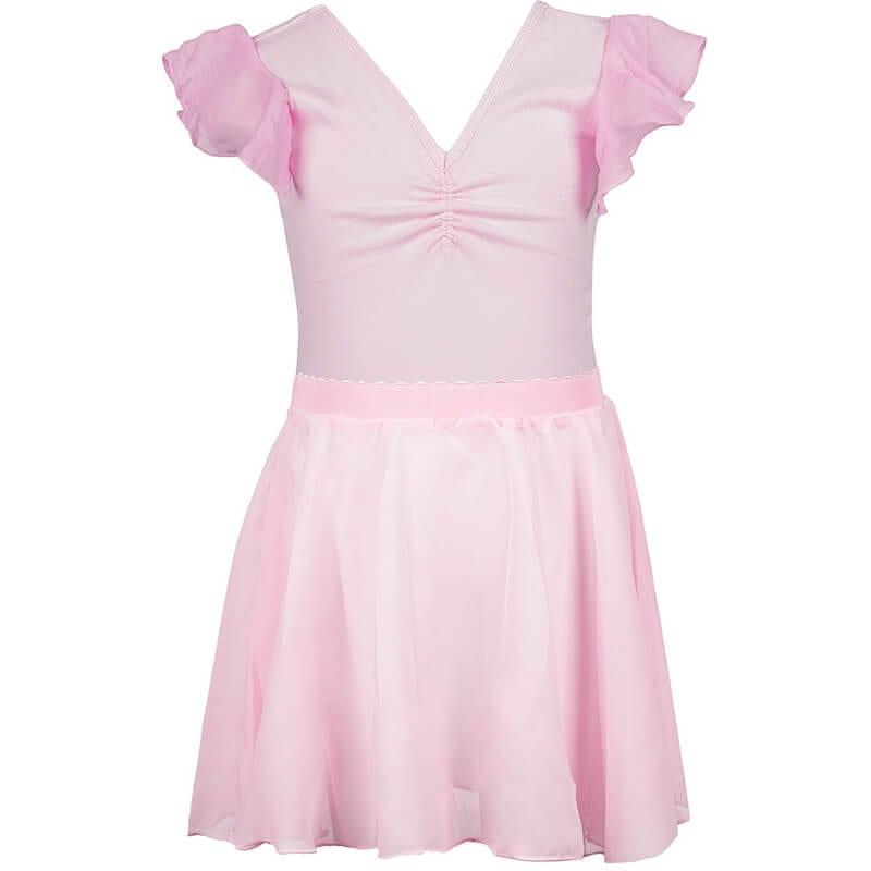 f5d162d20 flutter sleeve two piece leotard skirt set - Dance wear - Pitter Patter